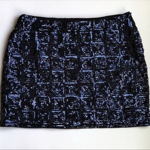 H & M | Sequin Mini Skirt | NWT | Size 12